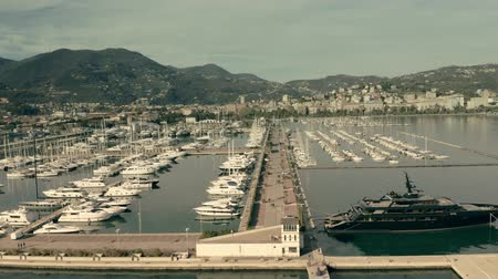 mirabello : Aerial view of marina and seafront of La Spezia, Italy