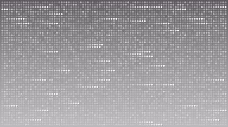 bod vzplanutí : Flashing dots across gray background, loopable animation