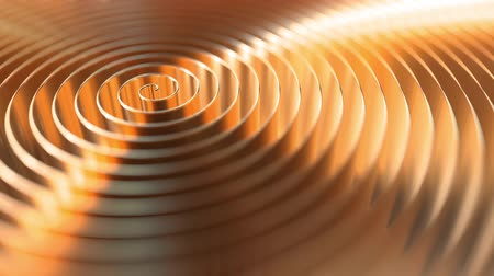 dourado : Copper coil, shallow focus. Loopable motion background