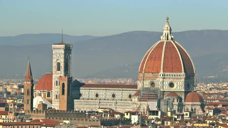 florence : Famous Cathedral or Cattedrale di Santa Maria del Fiore in Florence, Italy