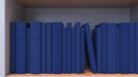 livraria : Many spines of the books form the Finnish flag. Literature, culture or science in Finland