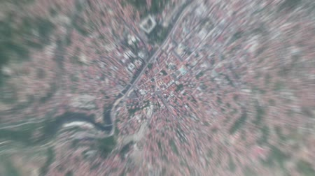 Sarajevo Bosnia and Herzegovina seen from space to street level