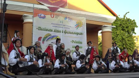"그리스의 : 축제 ""Polesie Summer with Folklore""개막식 Lutsk Ukraine 22.08.2018."