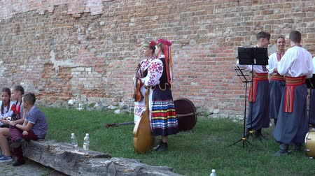 mexicano : Opening of the festival Polesie Summer with Folklore Lutsk Ukraine 22.08.2018.