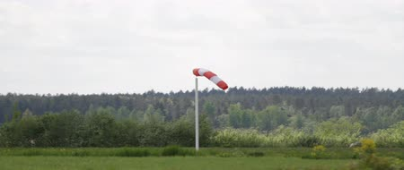 рукав : Windsock near the airport