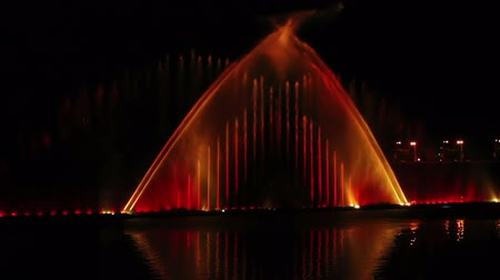 мистический : Europes largest musical fountain with 3D effects and laser show. Vinnitsa. Ukraine.