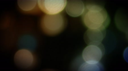 Big bokeh lights. computer generated seamless loop abstract motion background