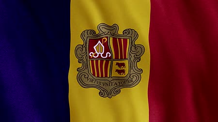Flag Of Andorra Vídeos