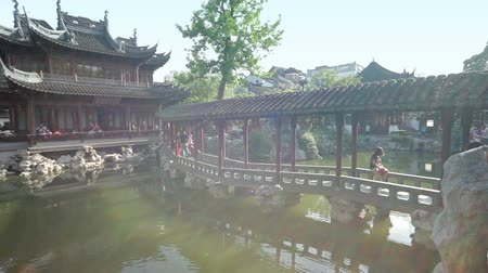park paths : Yuyuan Shangchang historical architetrical