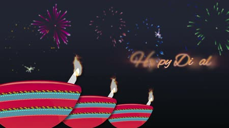 to celebrate : Happy diwali animated wish