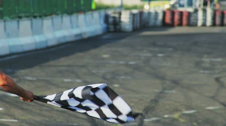 гул : Formula 1 F1 finishing checkered flag for race. Finish symbol, competition.