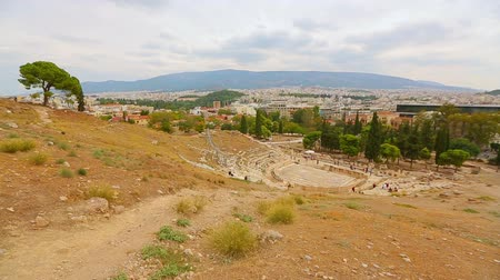 dionysus : Amazing view of popular tourist destination, valuable remains of antique theater