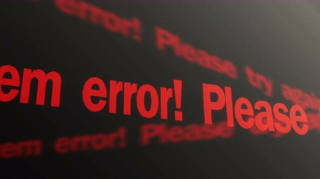 езда с недозволенной скоростью : System error. Please try again text running on screen. Operating system warning
