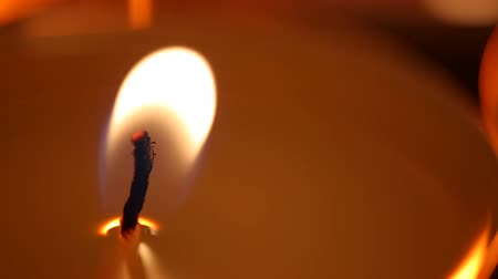 striving : Candle flame affected by strong wind, facing problems, fight to overcome problem