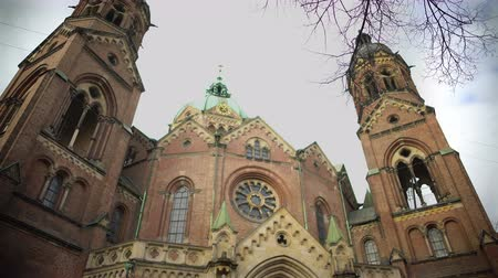 luke : St. Lukes Church, Cathedral of the Munich Protestants in Munich, Germany