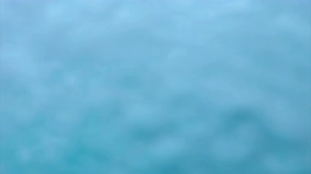 waterline : Sea view from boat moving fast across sea at high speed water splashes on camera Stock Footage