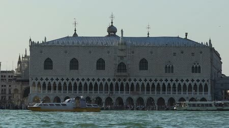 директор : Piazza San Marco, principal public square in Venice, Italy, view from boat