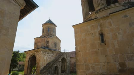 madona : Amazing view of Gelati Monastery in Kutaisi city, Georgia, historical heritage Dostupné videozáznamy
