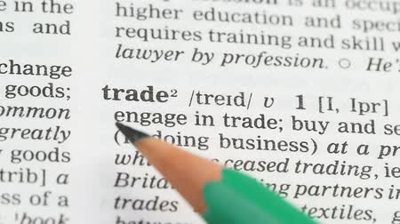 книжный магазин : Trade, word in english vocabulary, process of buying and selling, interaction