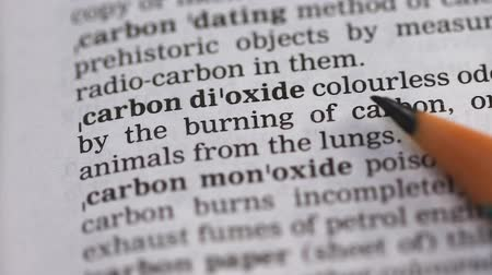 terminology : Carbon dioxide phrase in english dictionary, harmful environmental chemicals