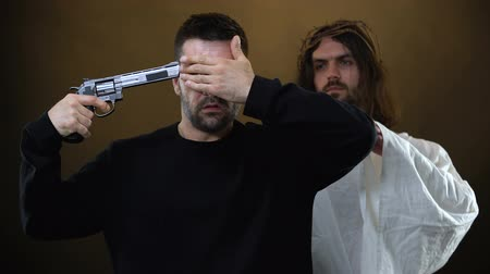 desperate : Son of God uncovering desperate male eyes, God preventing suicide commitment
