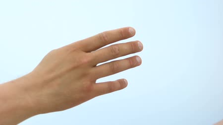 bağımlı : Outstretched arm grabs helping hand, psychological support to addicted, rehab