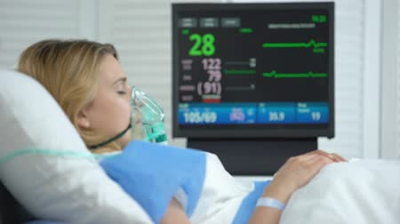 invasive : Female in coma, heart rate falling to zero on ecg monitor, patient death, health