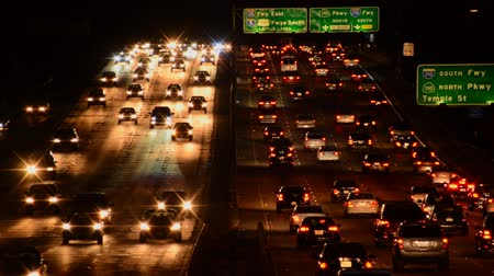 samochody : Busy Freeway in Los Angeles