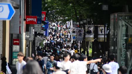eatery : Time Lapse of Pedestrians - Tokyo Japan Stock Footage