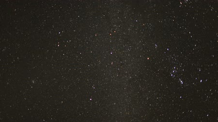Time Lapse of stars moving across the night sky