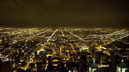 grade : Overhead View of Chicago - Time Lapse Vídeos