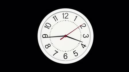 zegar : Time Lapse of Standard Time Clock Wideo