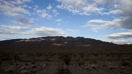 dead : Death Valley Landscape Stock Footage