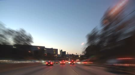 prędkość : Los Angeles - Car Mounted Camera - Timelapse Wideo