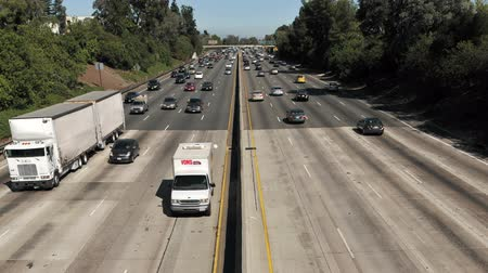 auto estrada : Time Lapse of Urban Freeway Traffic