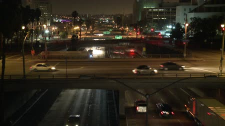 marmeláda : Los Angeles Traffic at Night