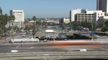 messe : Heavy Traffic de Downtown à Los Angeles - laps de temps
