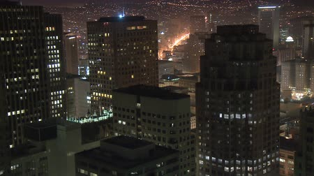samochody : Above a Big City - Time Lapse - San Francisco