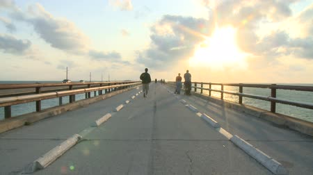 yaya köprüsü : Key West Florida - 7 mile Bridge
