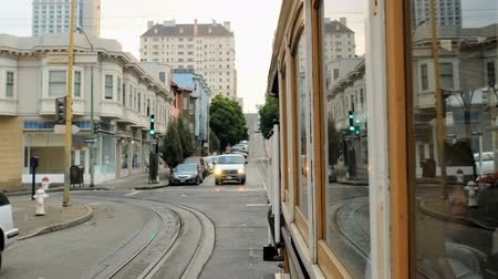 kabel : Time lapse of San Francisco Cable Car in Motion