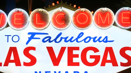 Bienvenue à Las Vegas Neon Sign