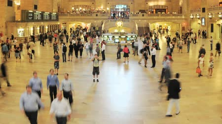ondergronds : Grand Central Station Time Lapse