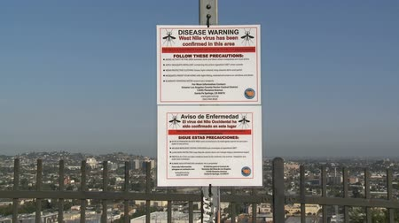 komar : West Nine Warning Sign in Los Angeles