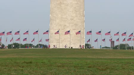 aghi : Time Lapse di Washington DC Monument