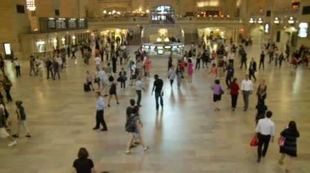 marmer : Grand Central Station Time Lapse Crowd
