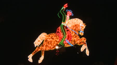 jel : Cowboy Neon Sign in Las Vegas