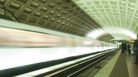 train workers : Washington DC Metro Rail  Subway