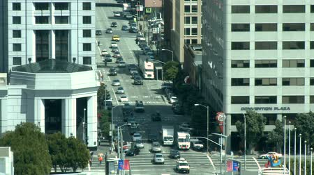 san francisco : San Francisco Downtown Traffic - Time Lapse