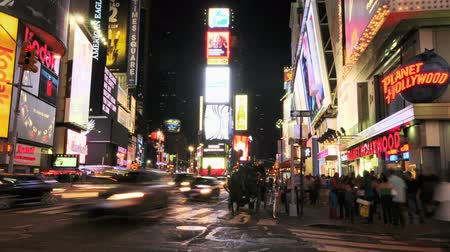 čas : NYC Times Square Time Lapse
