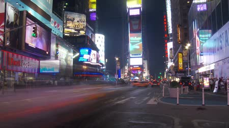 nyc : NYC Times Square Time Lapse
